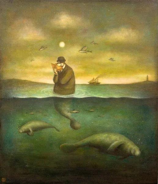 越南画家杜伊·怀恩的空灵绘画插图105