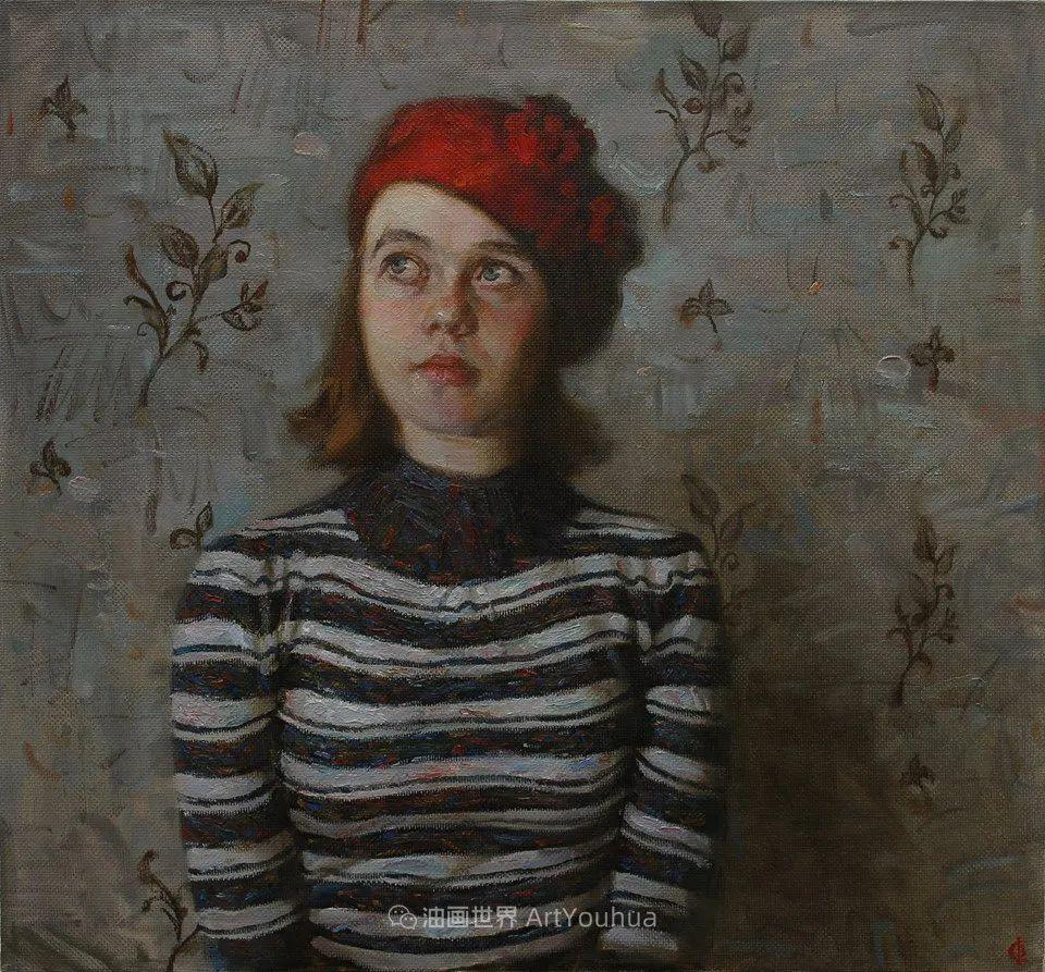 古典风格蛋彩画,俄罗斯画家弗拉基米尔·亚历山德罗维奇插图93