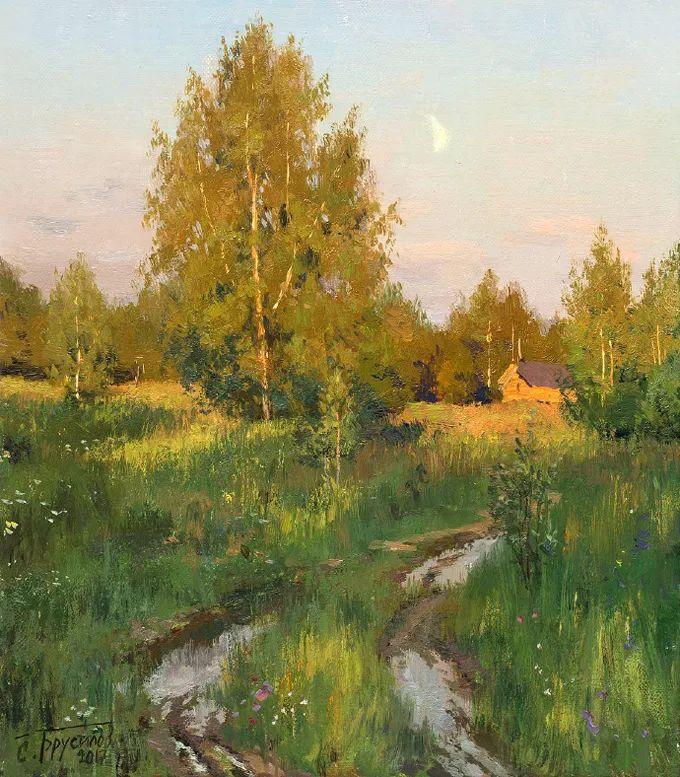"""岁月静好,俄罗斯"""" 小希施金 """" 的自然风景油画,美极了!插图93"""