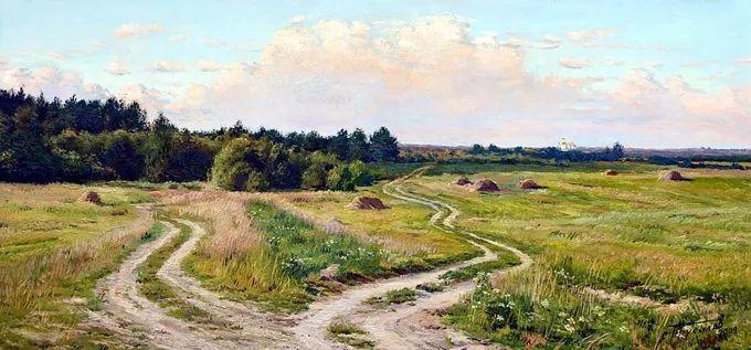 """岁月静好,俄罗斯"""" 小希施金 """" 的自然风景油画,美极了!插图49"""
