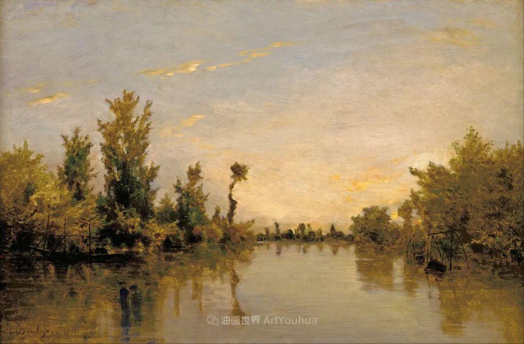 法国著名巴比松派风景画家——杜比尼插图3