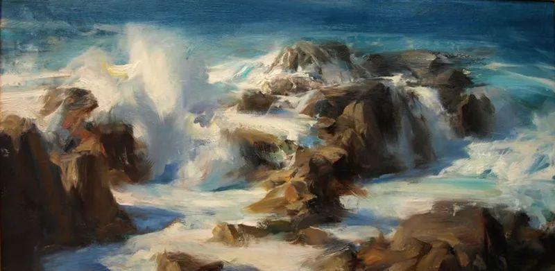 一个来自东方的画家,把印象派绘画掌握和提高到,如此至善至美的境界!插图45