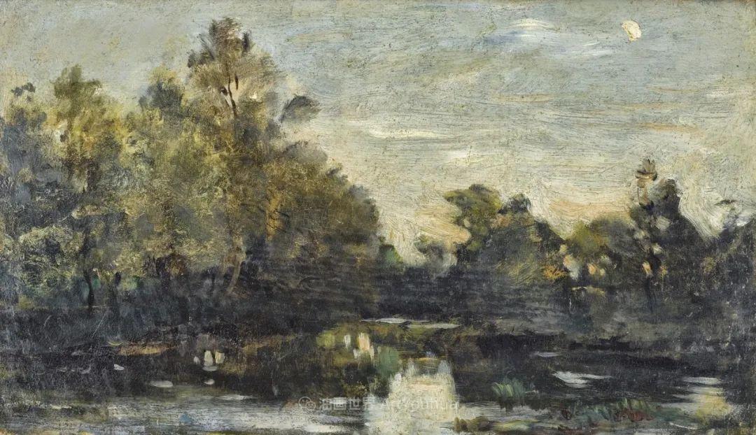 法国著名巴比松派风景画家——杜比尼插图145