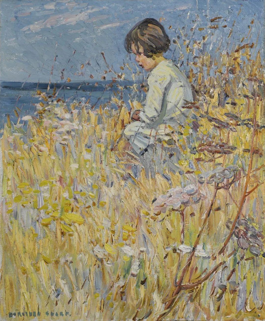充满着写意风格的绘画,20世纪英国最伟大的女画家之一夏普插图27