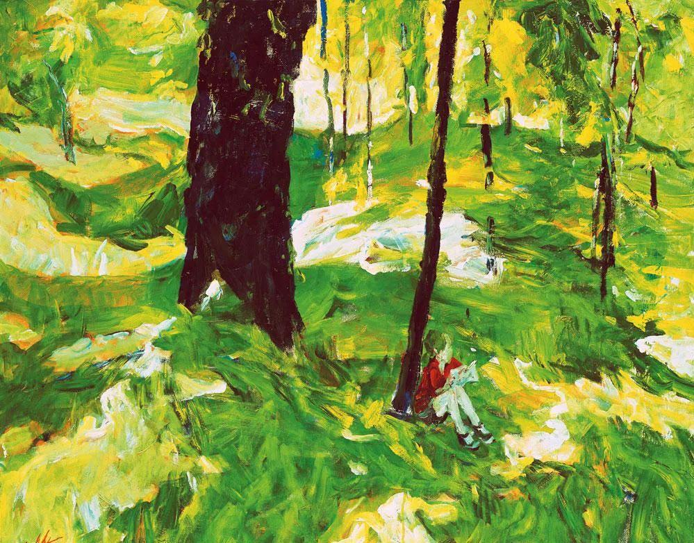 浓烈、明亮、斑斓、恣肆的色彩,这油画美极了插图115