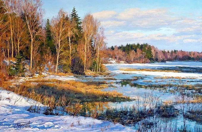"""岁月静好,俄罗斯"""" 小希施金 """" 的自然风景油画,美极了!插图19"""