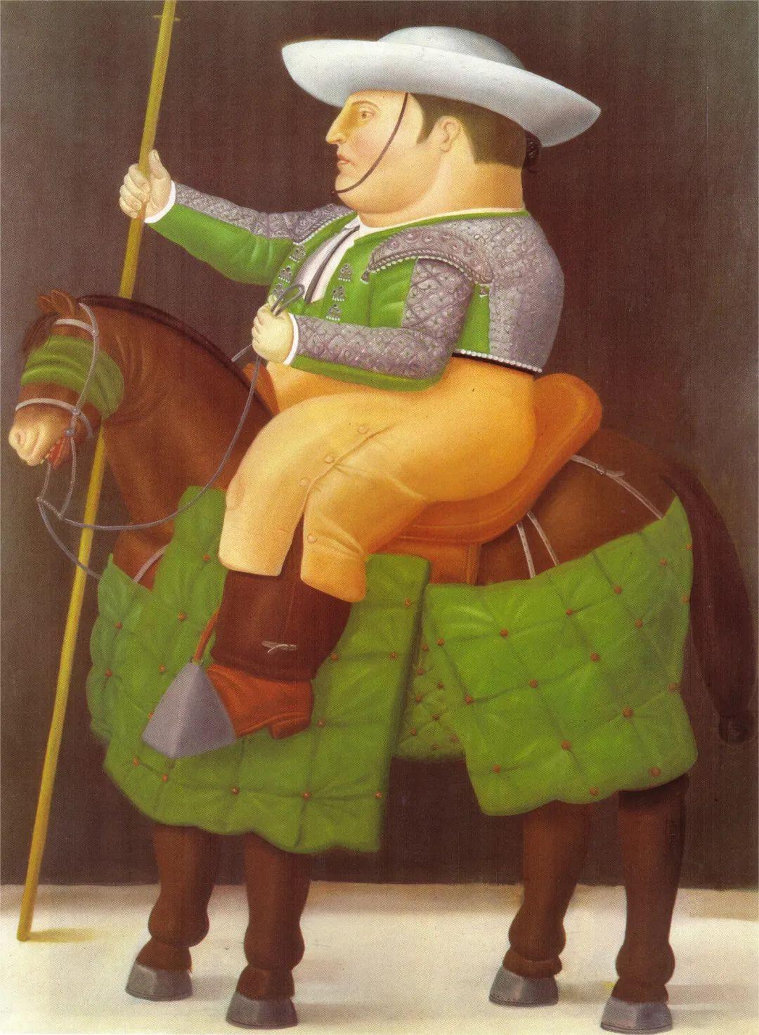 诙谐幽默的圆润形态 | 费尔南多·波特罗插图58