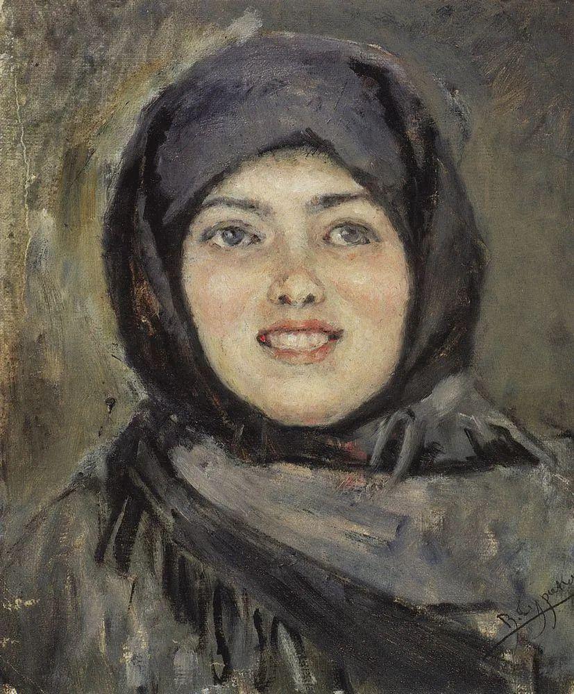 俄罗斯画坛先驱人物,瓦西里·苏里科夫人物作品选粹插图39