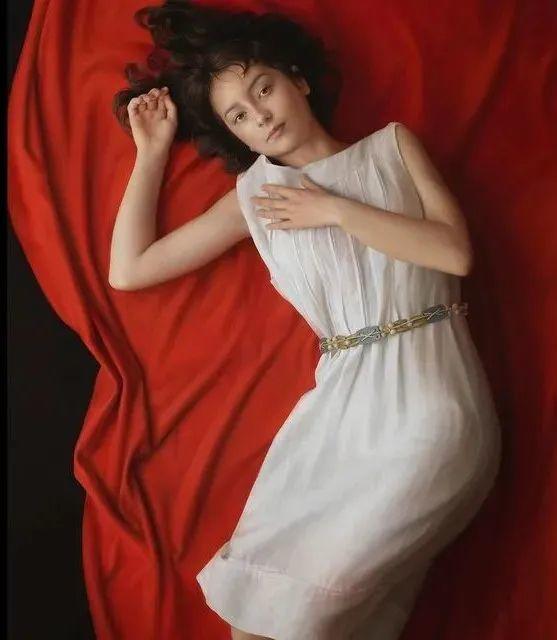 """""""日版冷军""""笔下的美少女作品,古典唯美堪比高清照片,很震撼!插图31"""