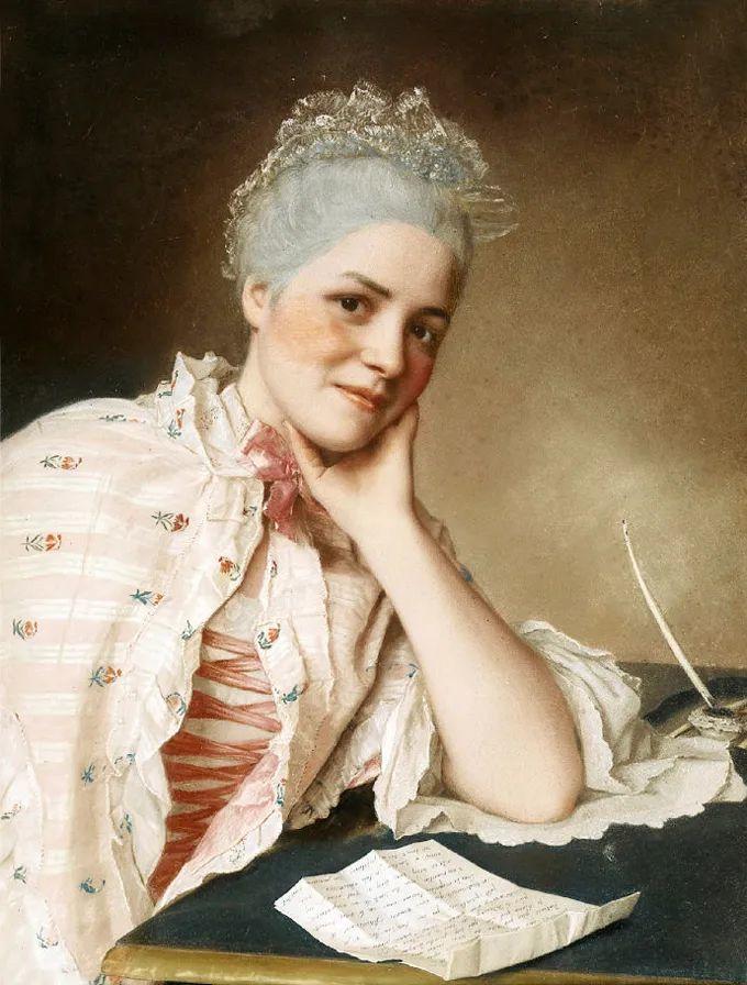 德国画家康拉德油画里的优雅女子,美!插图29