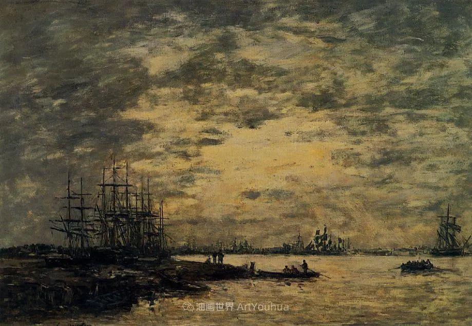 法国最早印象派画家欧仁·布丹,曾教莫奈写生!插图34