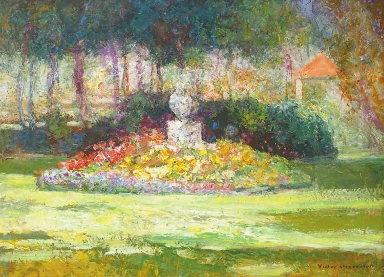 从律师到画家,法国后印象派画家维克多·查雷顿插图39