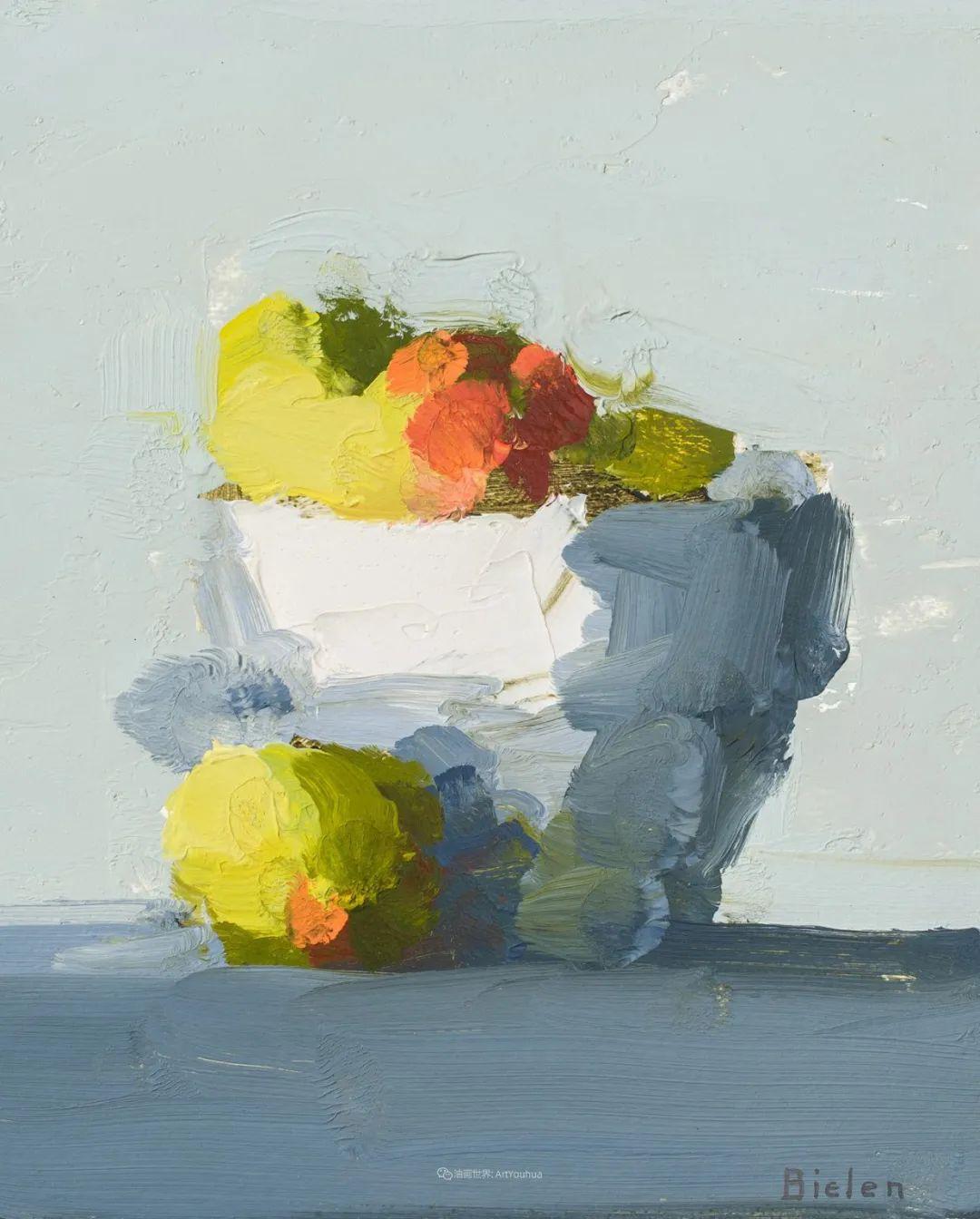 简约宁静 | 波兰画家斯坦利·比伦作品欣赏插图47