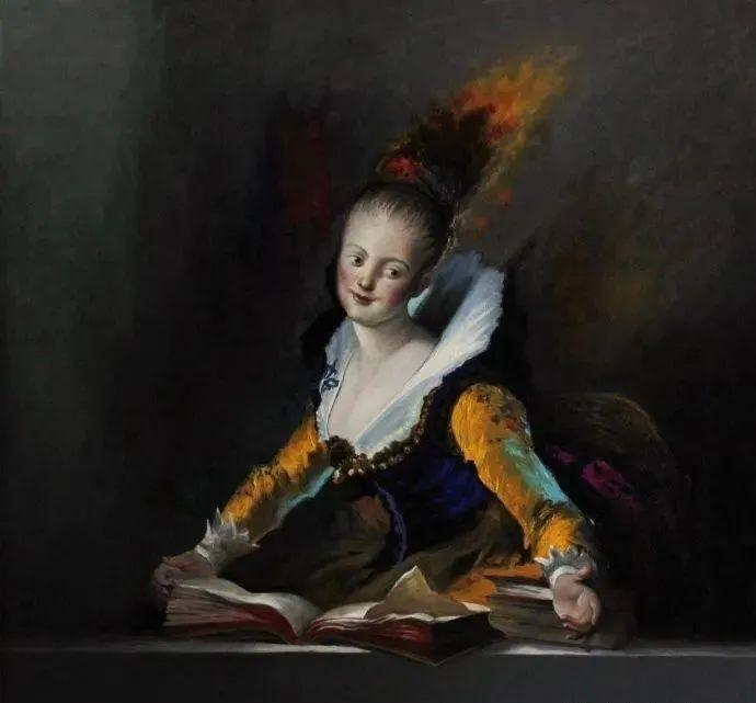 秘鲁自学成才艺术家的写实油画,展现着油画人物不同的美插图19