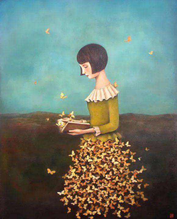 越南画家杜伊·怀恩的空灵绘画插图25