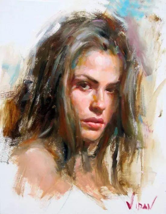 最富浪漫表现力的艺术家Vidan油画艺术作品插图73