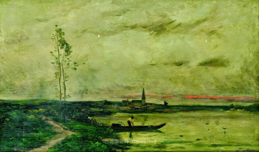 法国著名巴比松派风景画家——杜比尼插图129