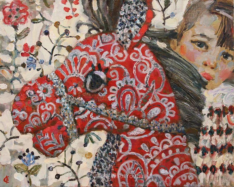 古典风格蛋彩画,俄罗斯画家弗拉基米尔·亚历山德罗维奇插图13