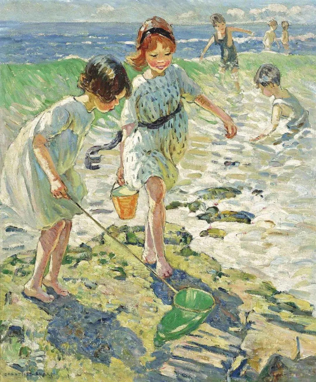 充满着写意风格的绘画,20世纪英国最伟大的女画家之一夏普插图5