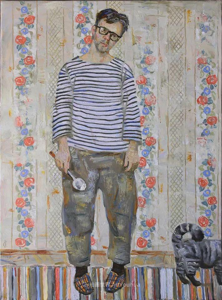 古典风格蛋彩画,俄罗斯画家弗拉基米尔·亚历山德罗维奇插图73