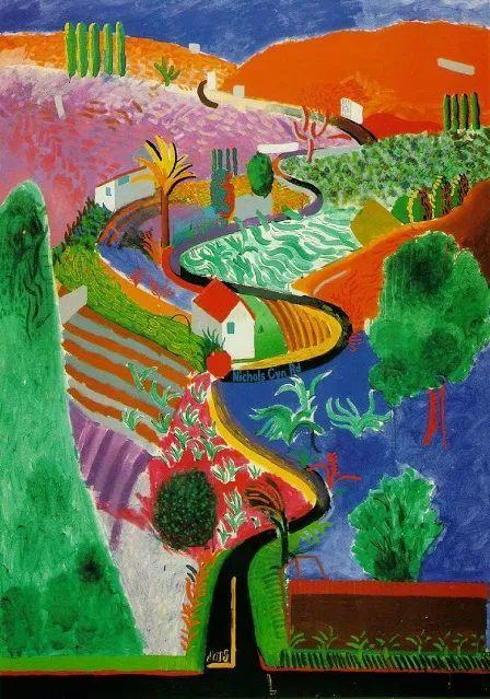 最著名的英国在世画家——大卫·霍克尼插图25