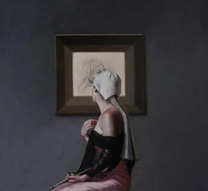 秘鲁自学成才艺术家的写实油画,展现着油画人物不同的美插图77