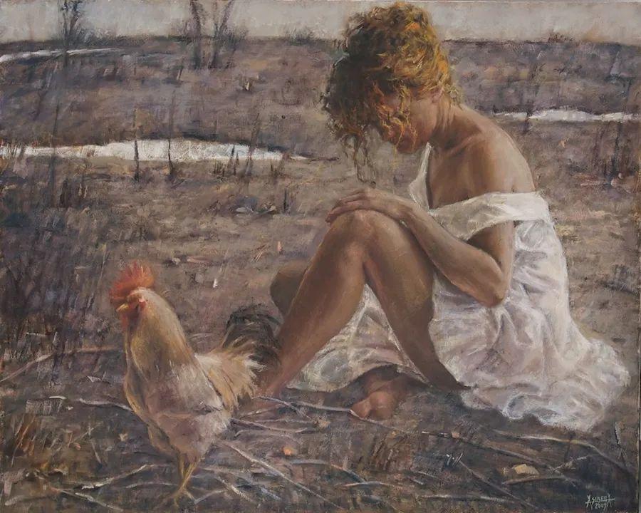 具象现实主义,波兰女画家阿丽娜·西贝拉插图57