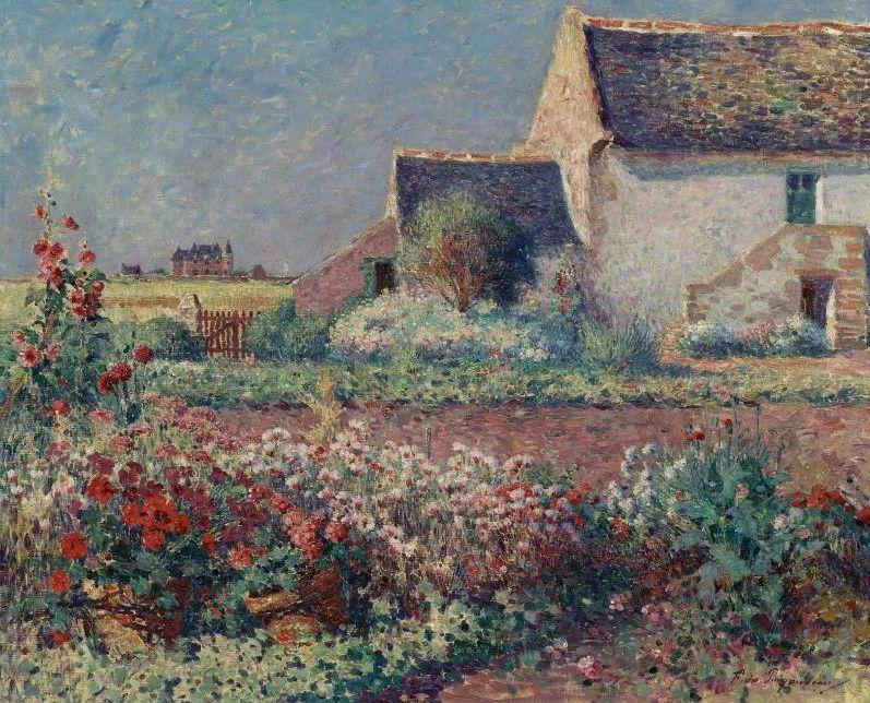 高更和德加的好友,法国画家费迪南德插图35