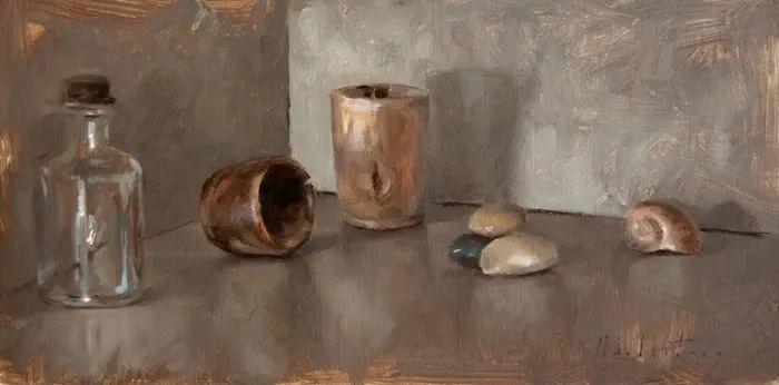 自学油画,她用真情描绘着周围的世界之美插图53