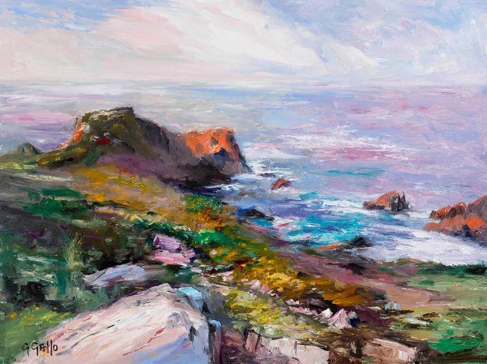 风景油画丨美国艺术家乔治·加洛的风景油画作品插图7