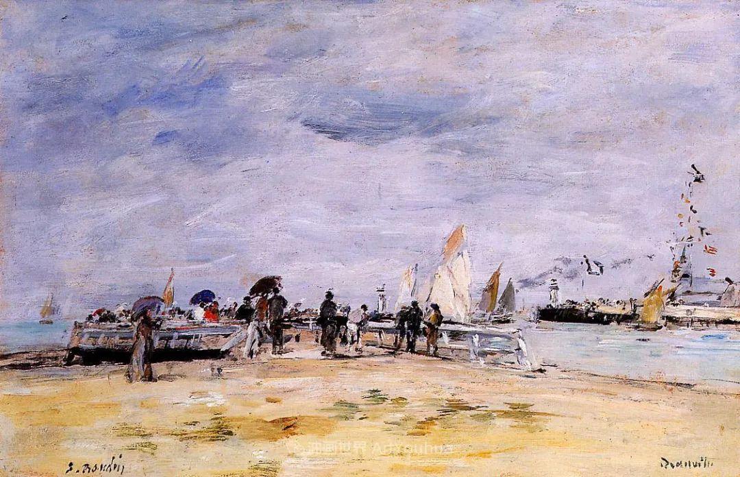 法国最早印象派画家欧仁·布丹,曾教莫奈写生!插图180