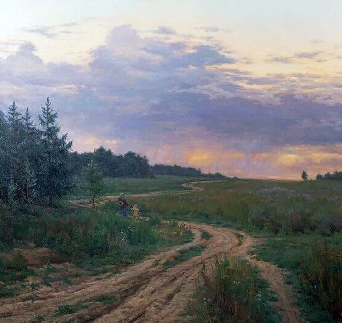 """岁月静好,俄罗斯"""" 小希施金 """" 的自然风景油画,美极了!插图67"""