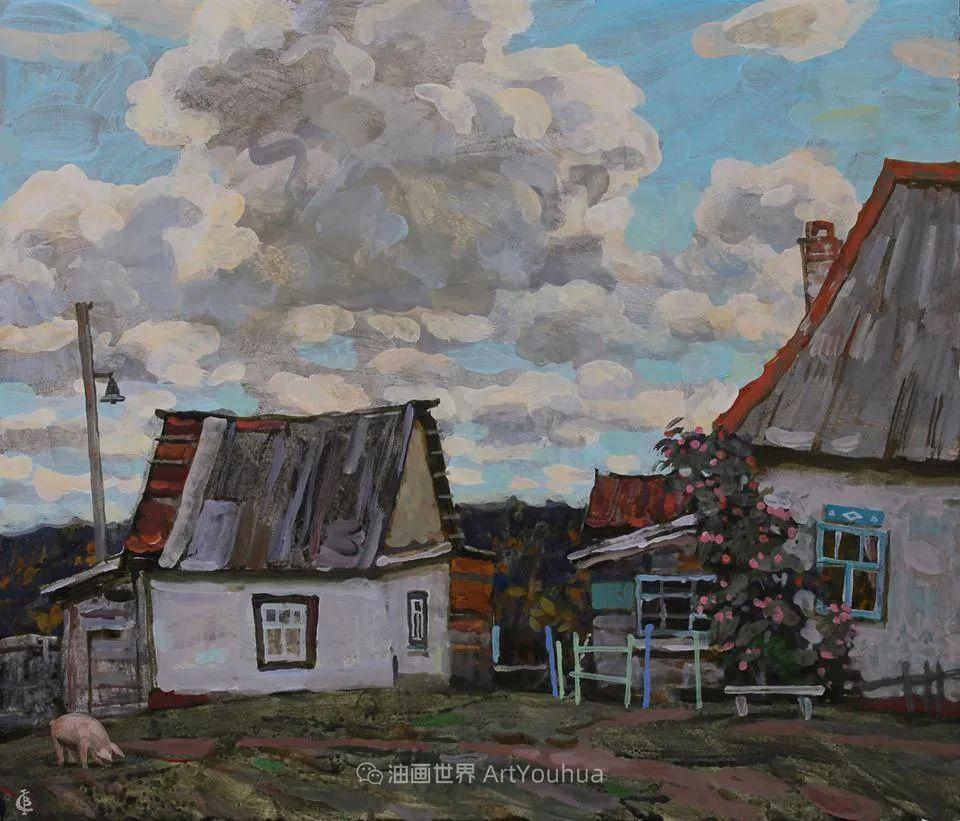 古典风格蛋彩画,俄罗斯画家弗拉基米尔·亚历山德罗维奇插图91