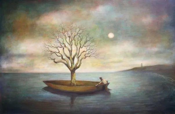越南画家杜伊·怀恩的空灵绘画插图119