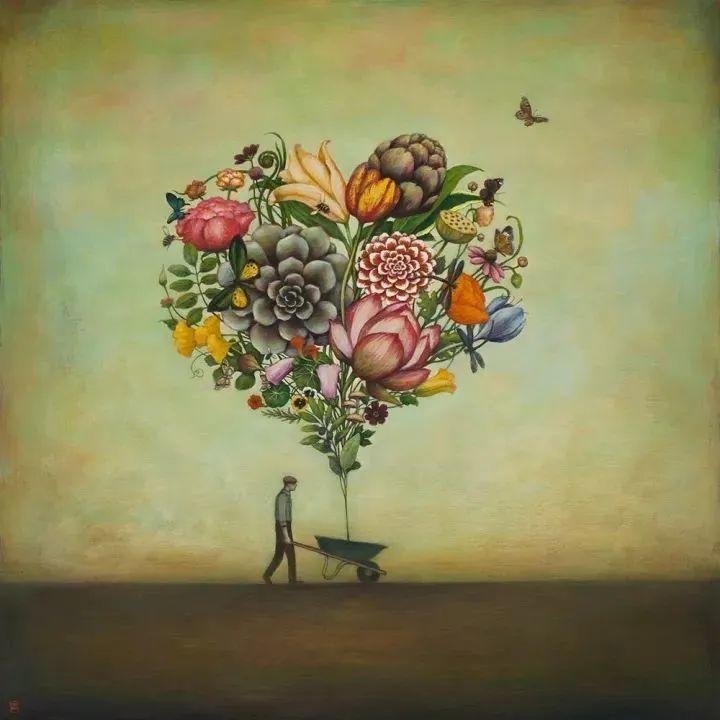 越南画家杜伊·怀恩的空灵绘画插图7