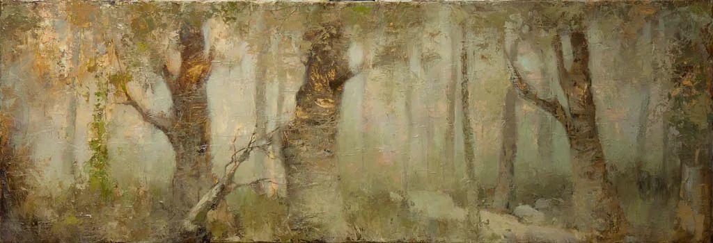 笔触率性,优雅朦胧的风景油画,迷人!插图79