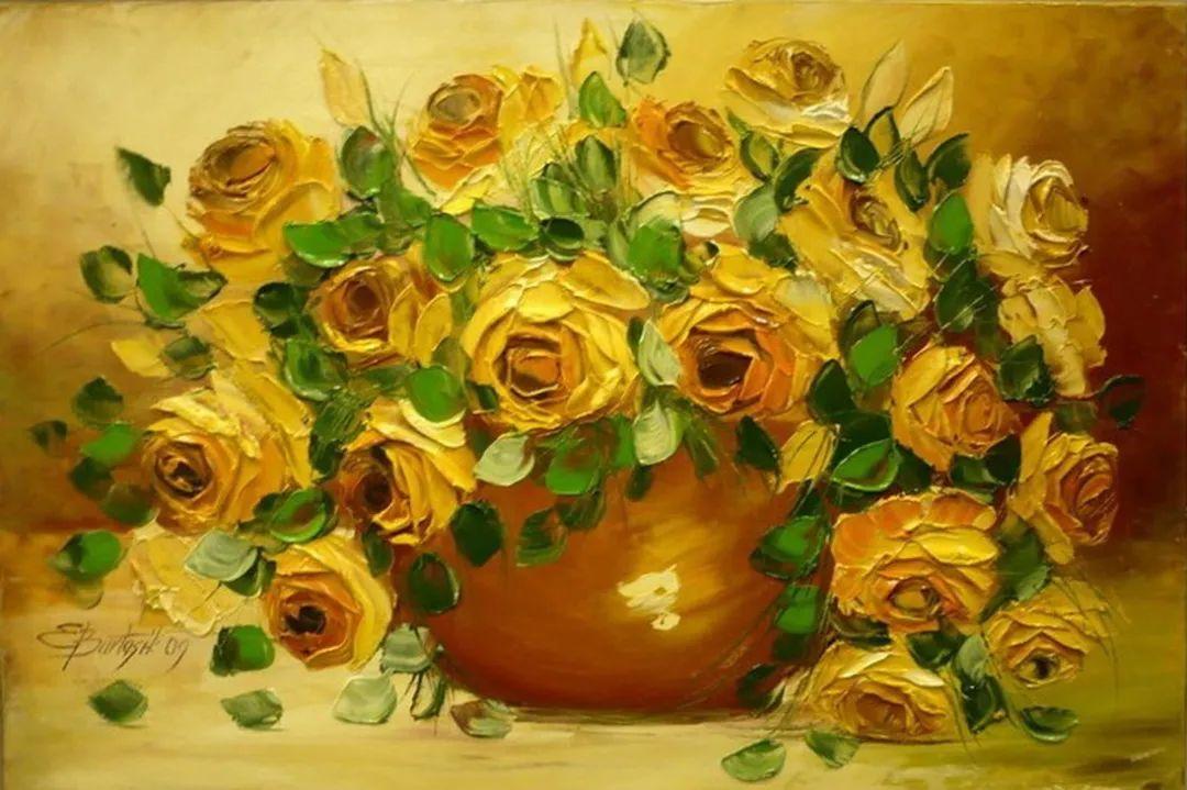自学油画,她用真情描绘着周围的世界之美插图35