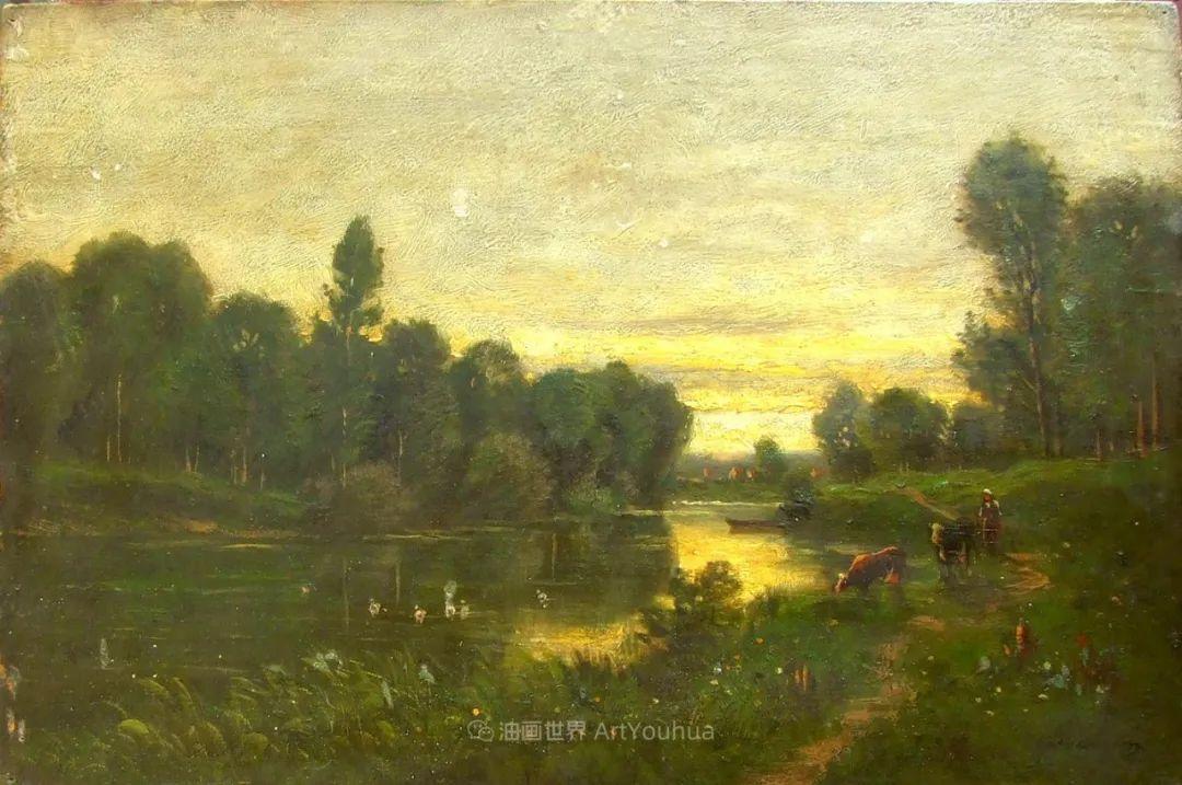 法国著名巴比松派风景画家——杜比尼插图103