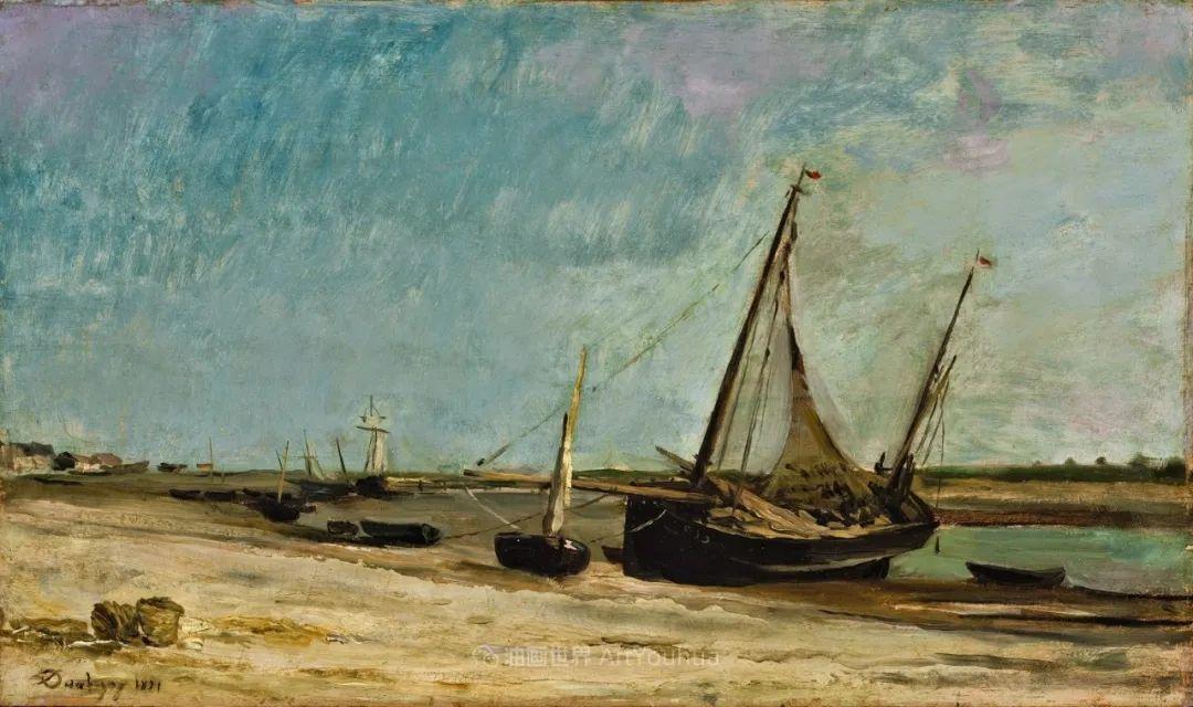 法国著名巴比松派风景画家——杜比尼插图143