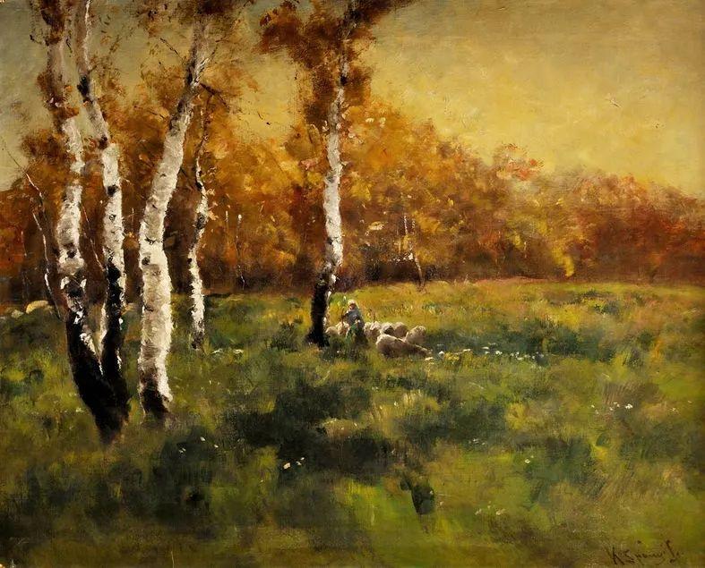 匈牙利杰出的自然风景画家——贝拉·斯潘依插图15
