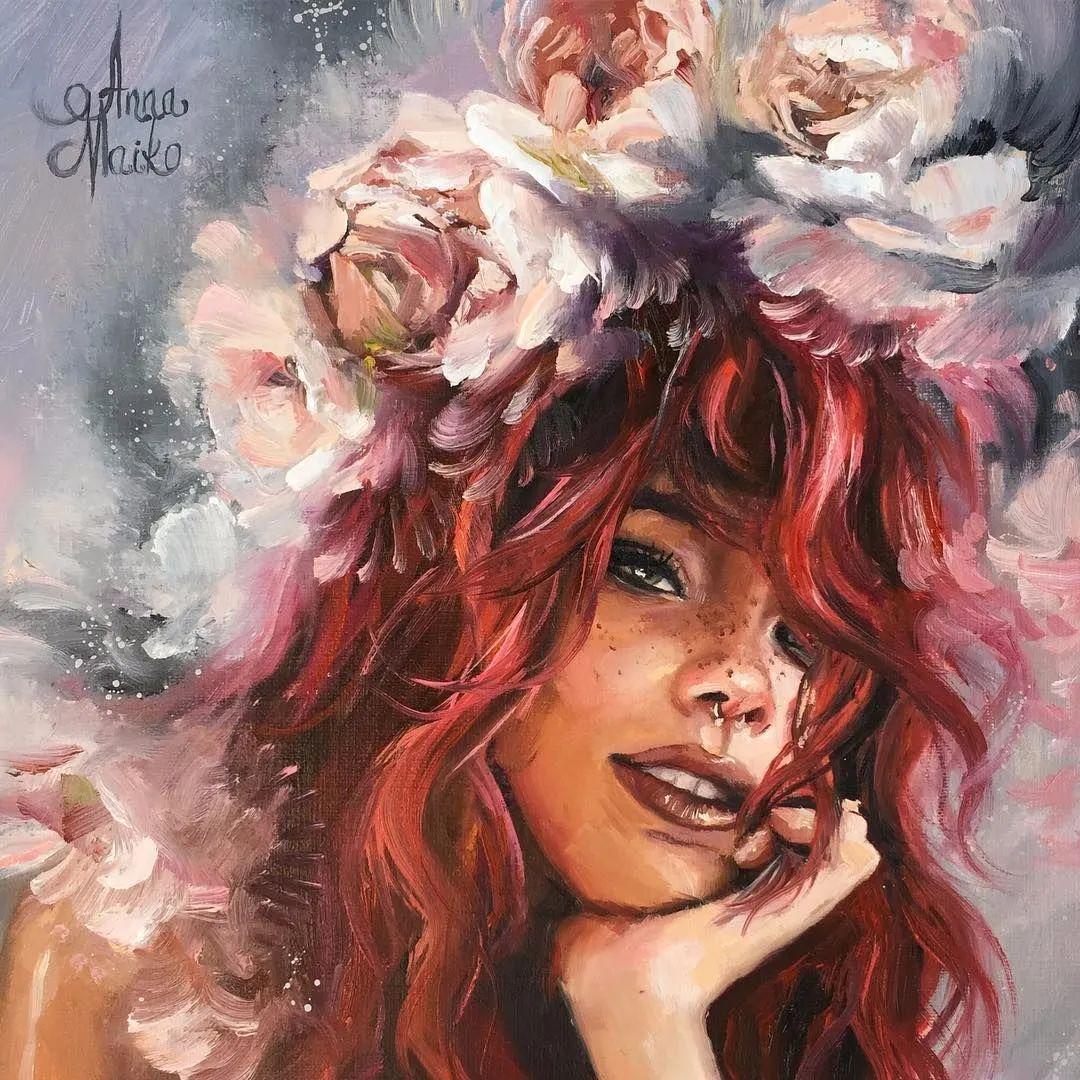 艺术家安娜的精美油画艺术作品欣赏插图33