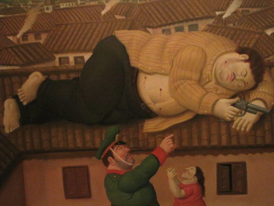 诙谐幽默的圆润形态 | 费尔南多·波特罗插图8