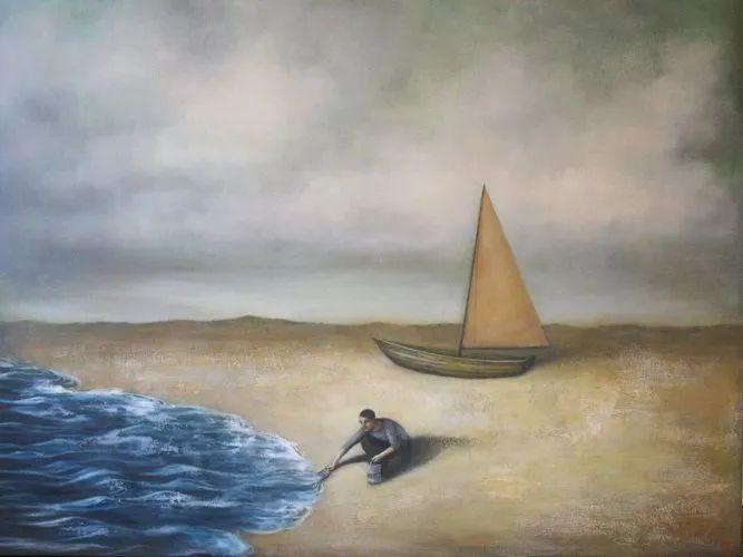 越南画家杜伊·怀恩的空灵绘画插图73