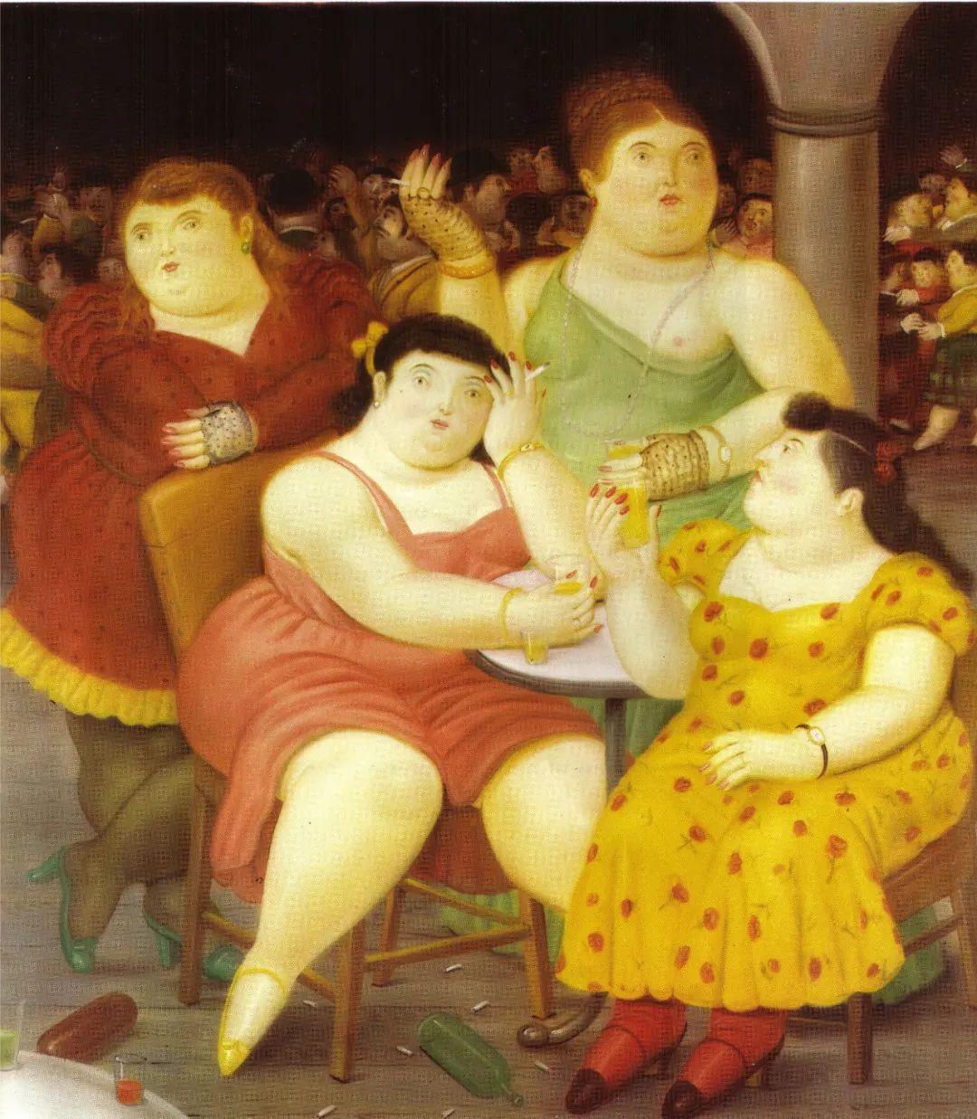 诙谐幽默的圆润形态 | 费尔南多·波特罗插图49