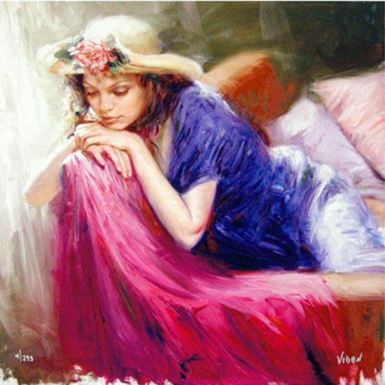 最富浪漫表现力的艺术家Vidan油画艺术作品插图85