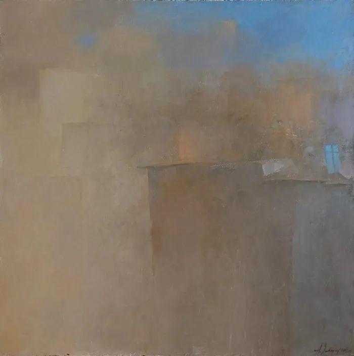 笔触率性,优雅朦胧的风景油画,迷人!插图65