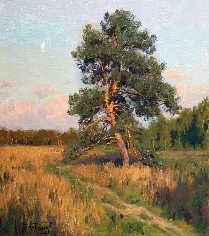"""岁月静好,俄罗斯"""" 小希施金 """" 的自然风景油画,美极了!插图71"""