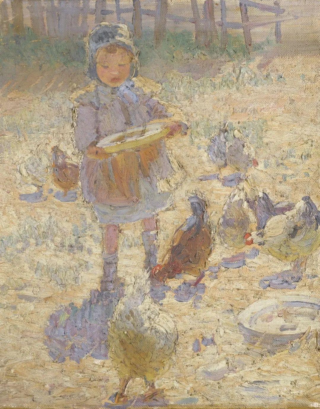 充满着写意风格的绘画,20世纪英国最伟大的女画家之一夏普插图53