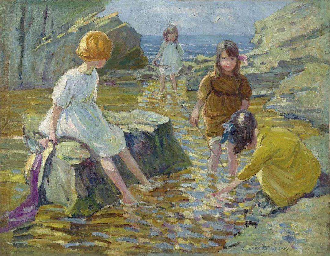 充满着写意风格的绘画,20世纪英国最伟大的女画家之一夏普插图65