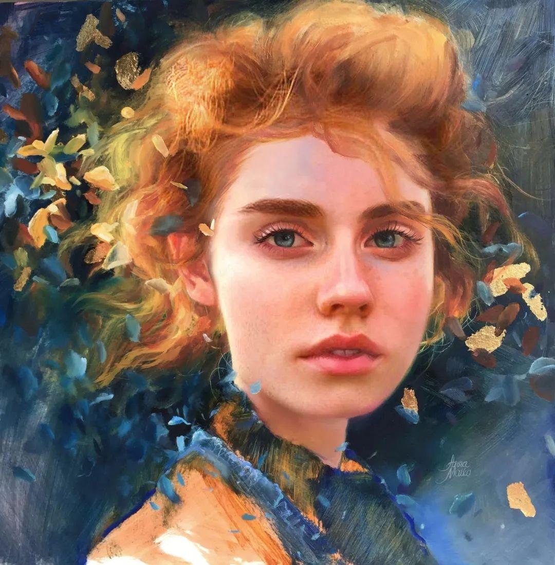 艺术家安娜的精美油画艺术作品欣赏插图49
